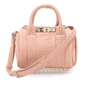 Mini Rockie in Blush with Pale Gold Hardware